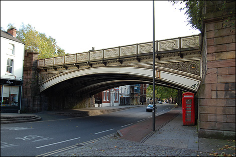 Friar Gate Bridge in Derby