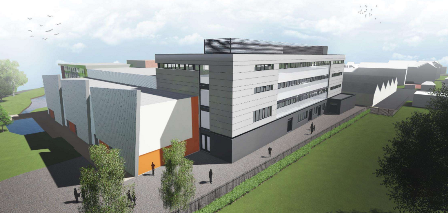 The planned £12million building extension for STEM subjects