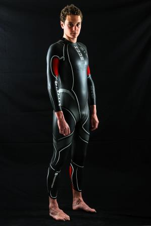 Olympic champion, Alistair Brownlee, sporting the Huub Achimedes 2 wetsuit