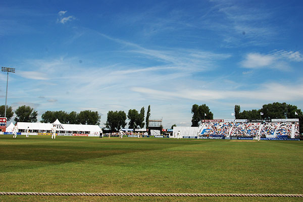 The 3aaa County Ground, home to Derbyshire County Cricket Club