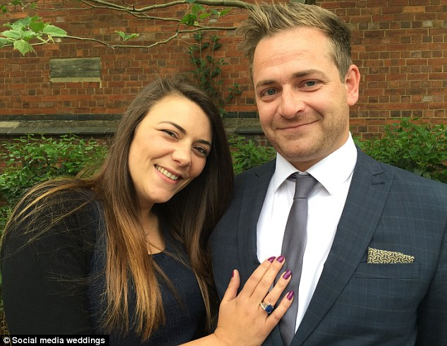 Zoe Anastasi, 34, and Will Diggins, 32, are planning on having the UK's first official social media wedding