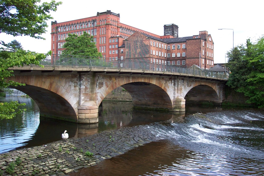 Strutt's North Mill at Belper