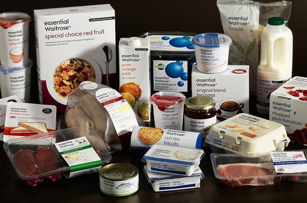 Waitrose's competitively-priced Essential range
