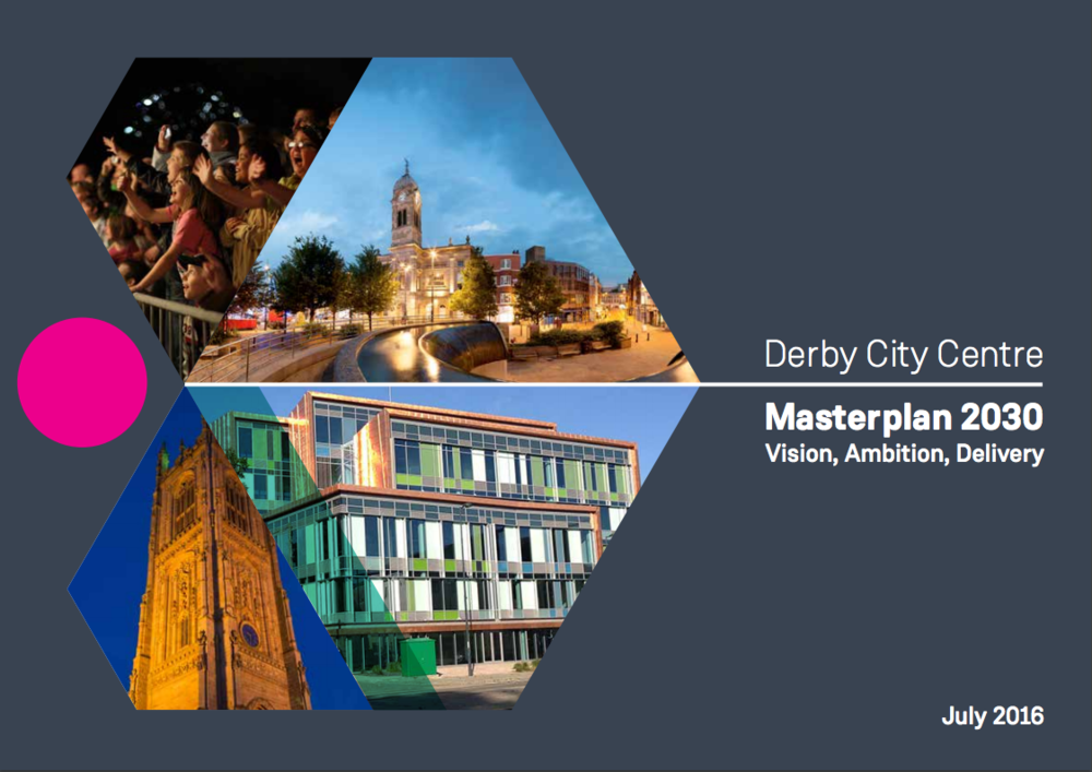 Derby City Centre Masterplan 2030
