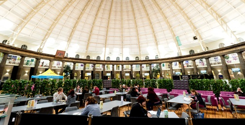 Dome Cafe at the Buxton Dome, photographed by Richard Richards Photography