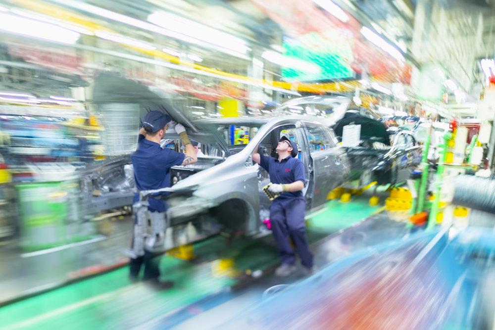 Toyota Derbyshire Factory