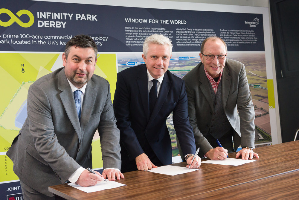 New Multi-million pound innovation facility at Infinity park