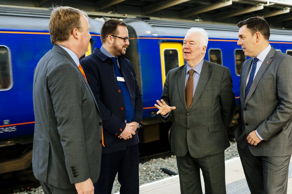 """""""We're delighted that this work is now complete, and we look forward to  passengers reaping the benefits. We appreciate that this work has impacted  on people ..."""