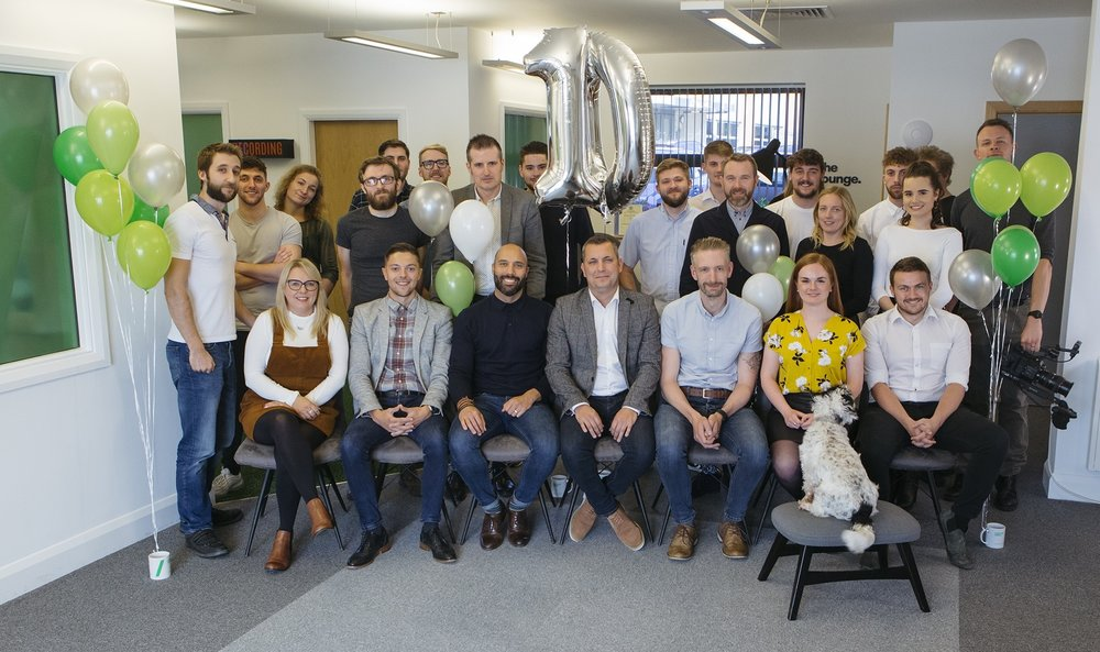 The team at Purpose Media celebrate 10 years of success.jpg