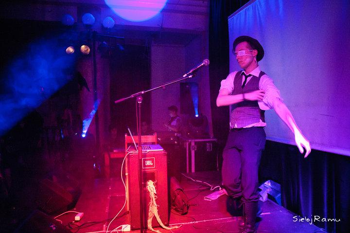 Nurvuss, Live at Drop Dead Festival 2010. Photograph by  Sieloj Ramu
