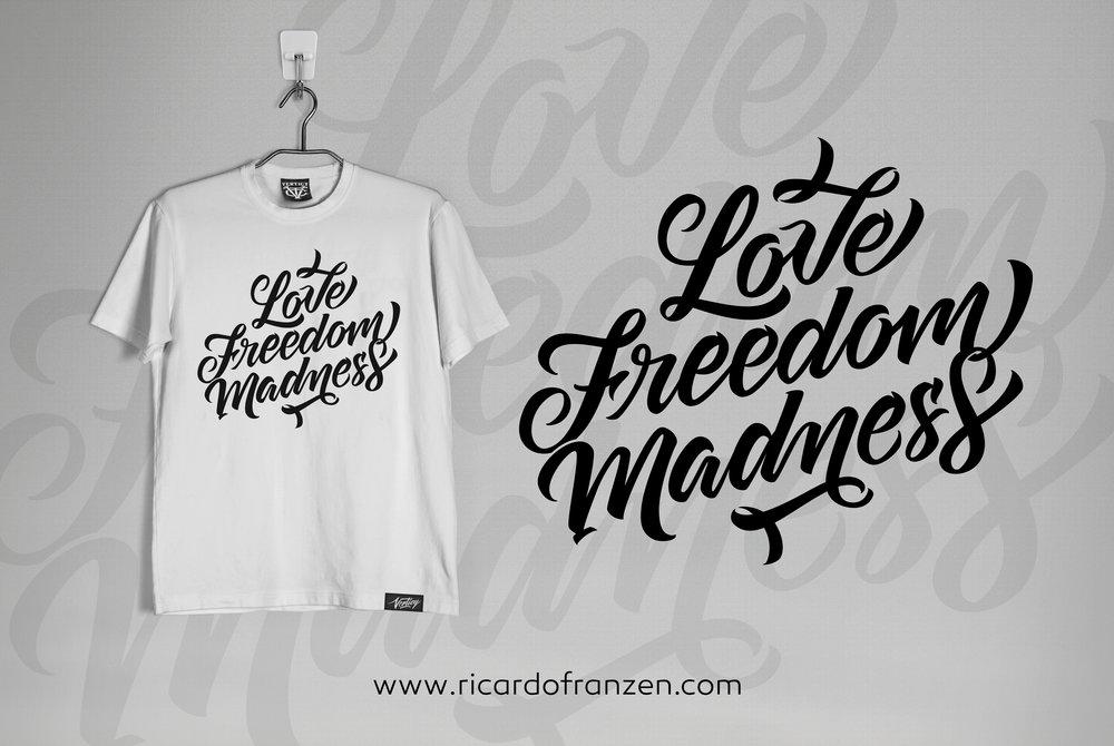 Lovefreedommadness-camiseta-t-shit-mockup-lettering-love-freedom-madness-ricardo-franzen-chupamund-fotografia-fotografo-curitiba-curitibano-franzen.jpg