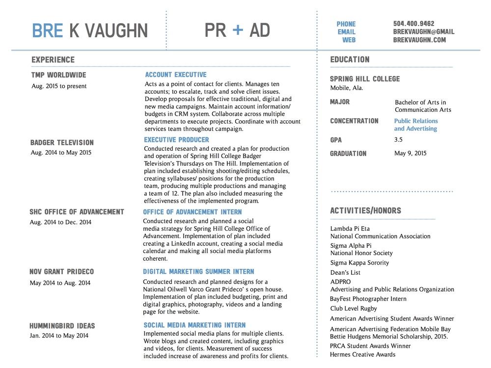 Bre-Vaughn-Resume