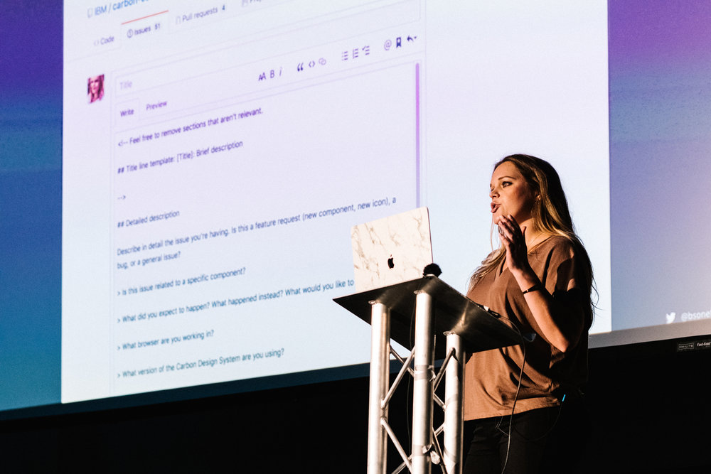 Speaker - Design Systems London : You've built a design system…now what? November 2018