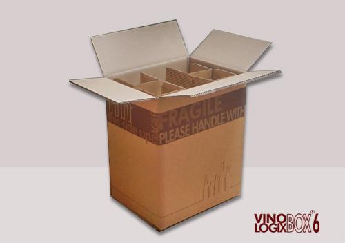 6-flesverpakking
