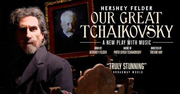 Hershey Felder as Tchaikovsky