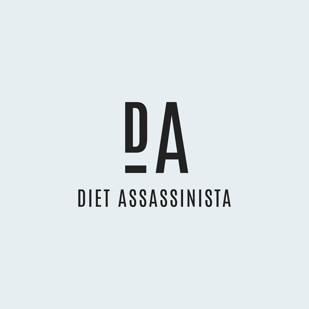 DIET ASSASSINISTA    Brand Identity / Brand Design / Web Design + Development