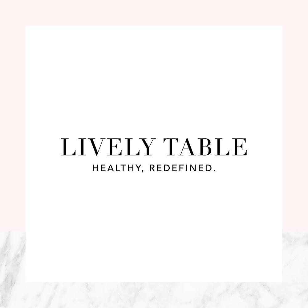 LIVELY TABLE    Brand Identity / Brand Design