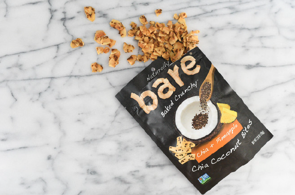 Bare Natural Foods is combining two trendy foods - chia seeds and coconut - into a new 'chia coconut' snack. PHOTO: BARE SNACKS