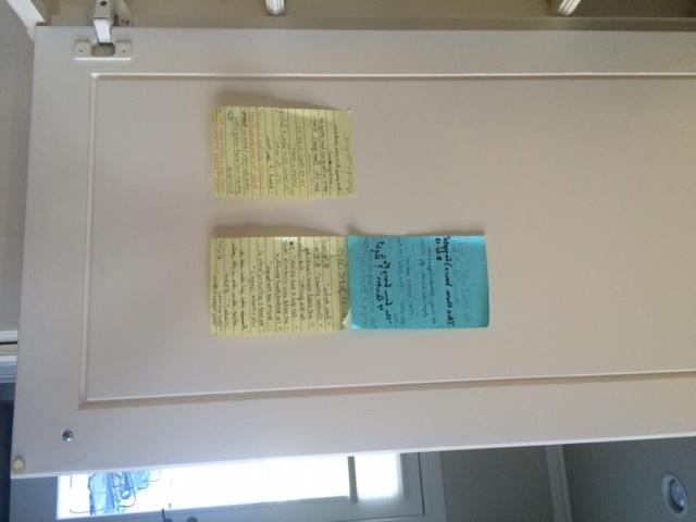 cupboard list