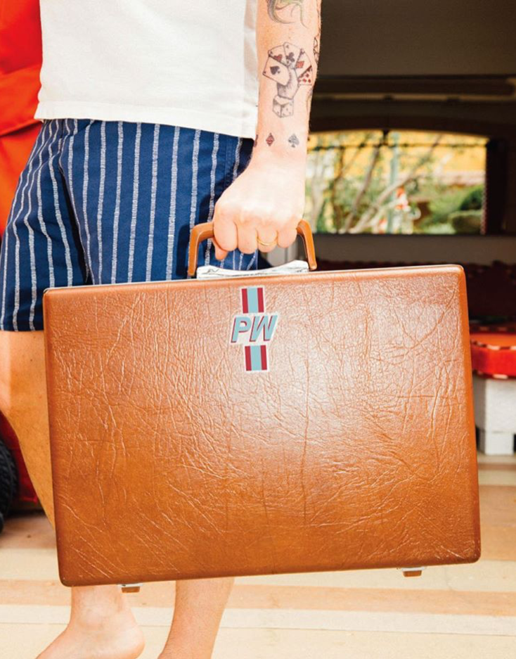 BRANDED SUITCASE