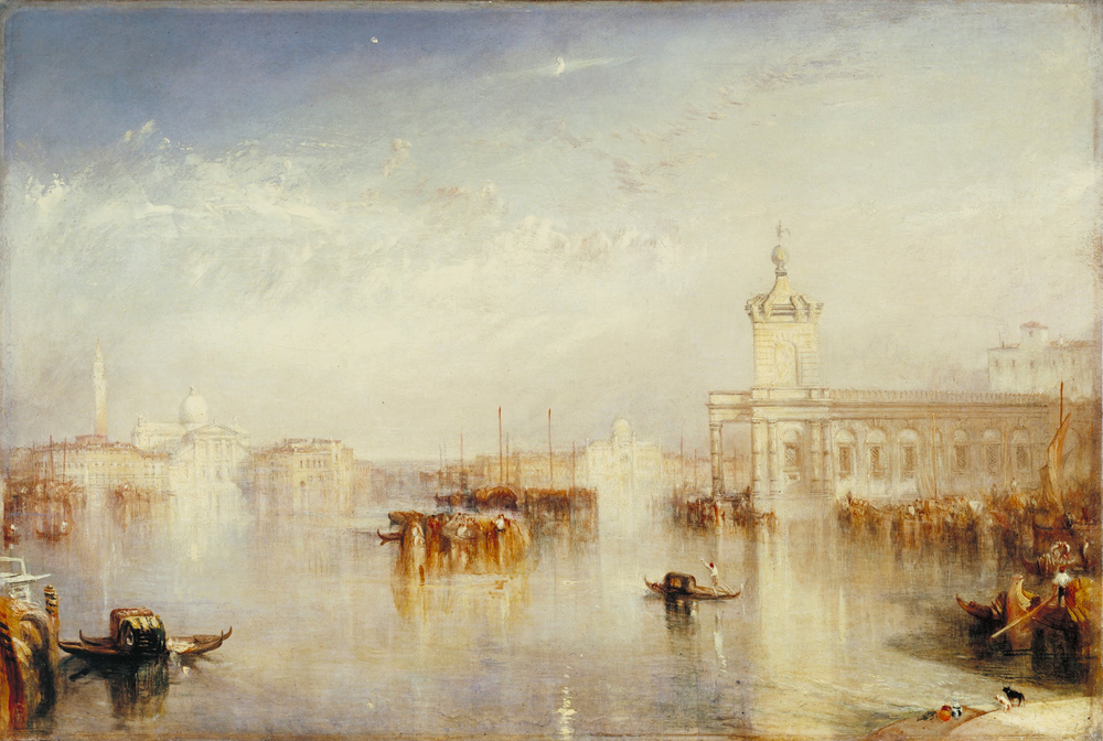 The Dogano, San Giorgio, Citella, from the Steps of the Europa , 1842