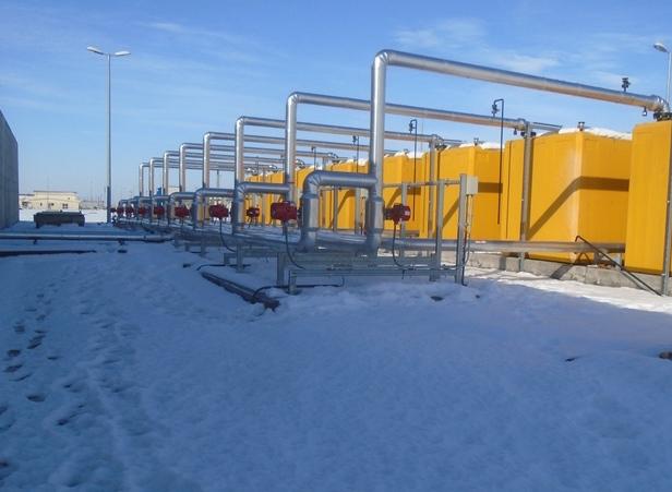 114,000Gal Fuel System  Devesulu,  Romania