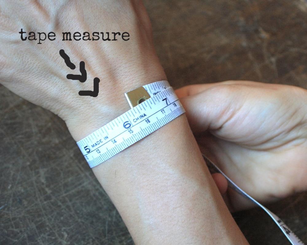 wrist tape measure