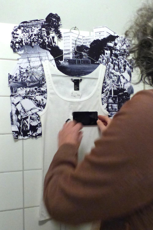 Claudia Grom, Der Fliegende Holländer  (installation)