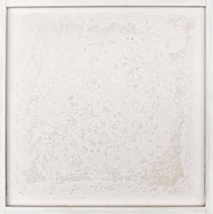 Quadratserie_08   2014  30 cm × 30 cm  Gips, Holz | plaster, wood  verkauft | sold