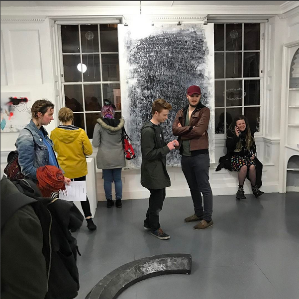 Opening night,  Art+Text 2017 , 44AD artspace