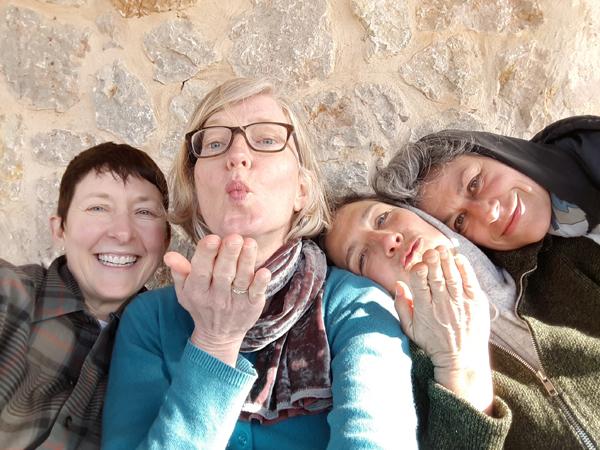 March 2018 artist retreat in Majorca (Image: Katja v. Ruville)
