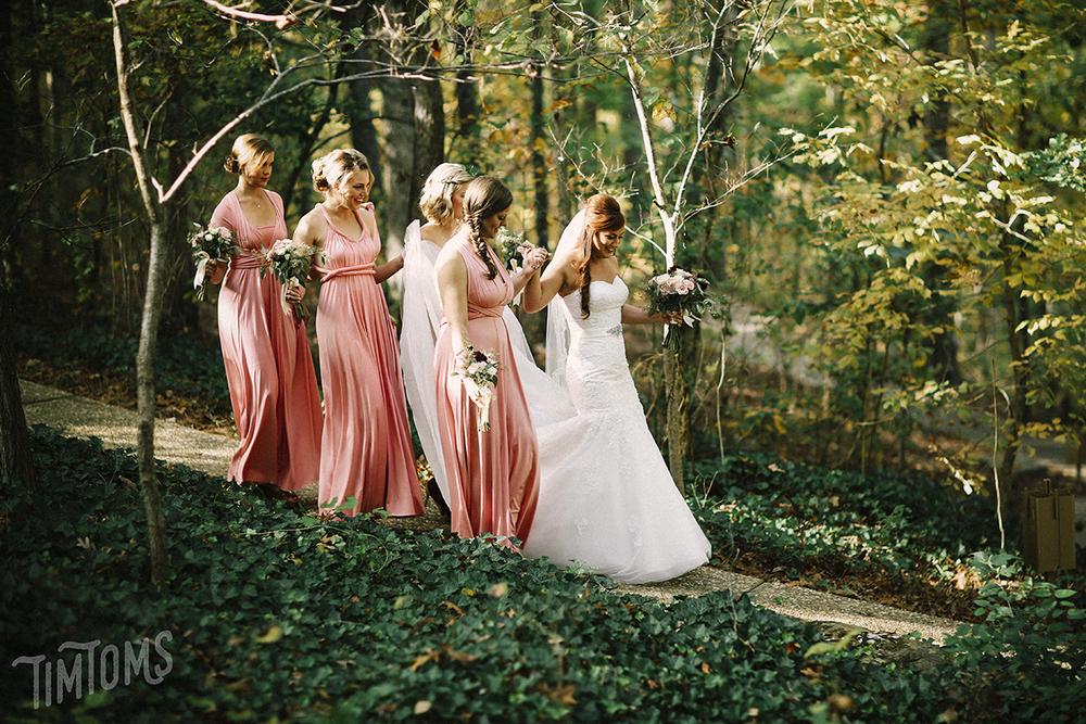Bridesmaids Arkansas  Tim Toms