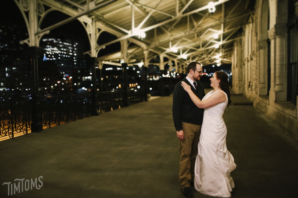 Nashville Union Station Wedding