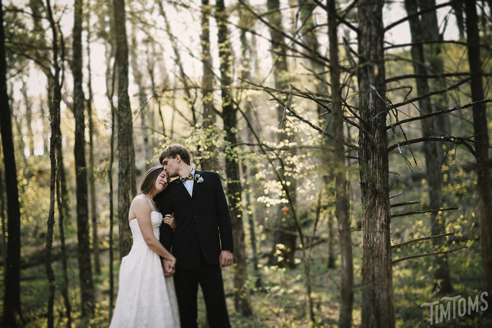 Arkansas Forest Wedding