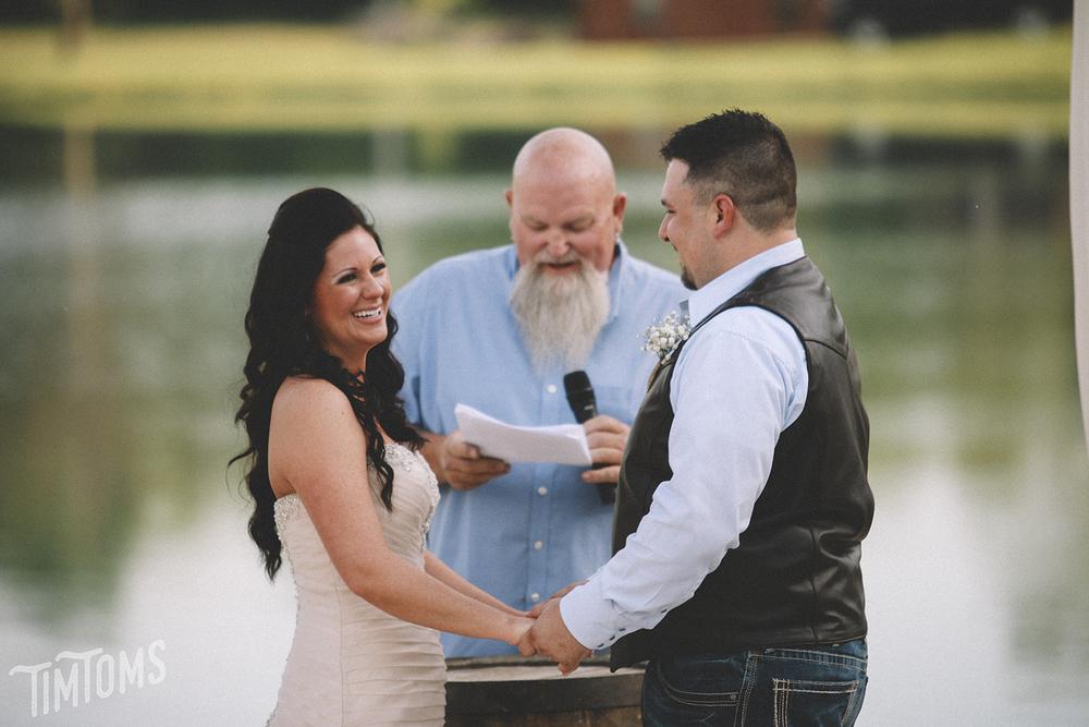 Wedding at Bullskin Creek Neosho