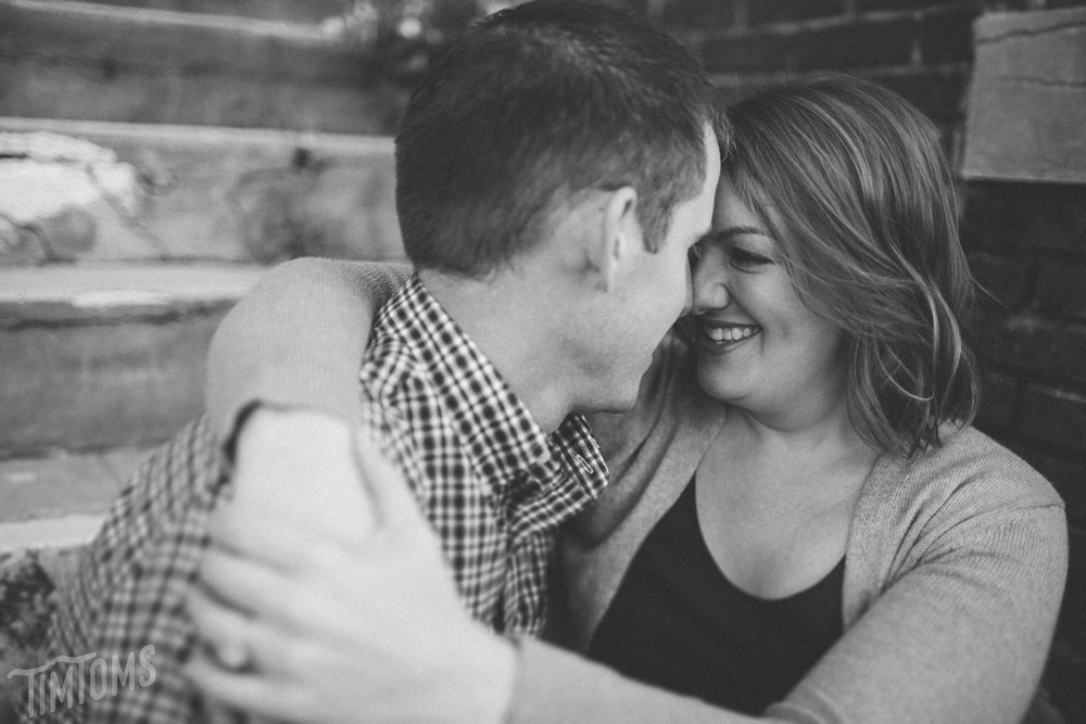 Downtown Joplin Engagement Shoot