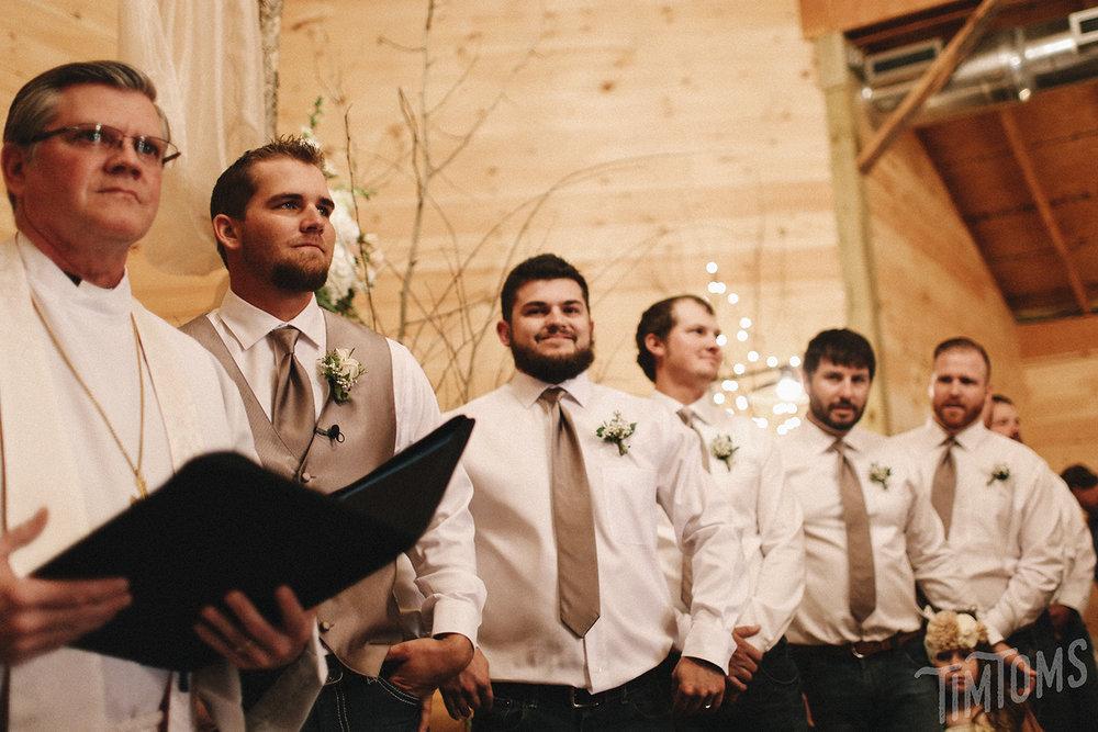 Wedding Ceremony Rustic Oaks