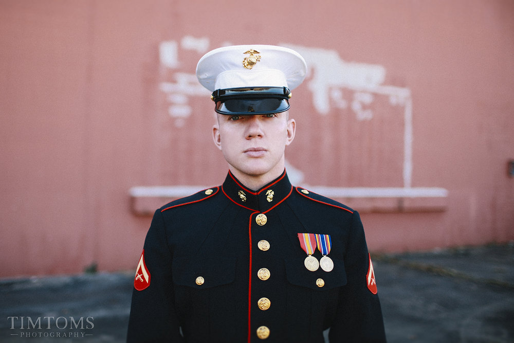 United States Marine Wedding