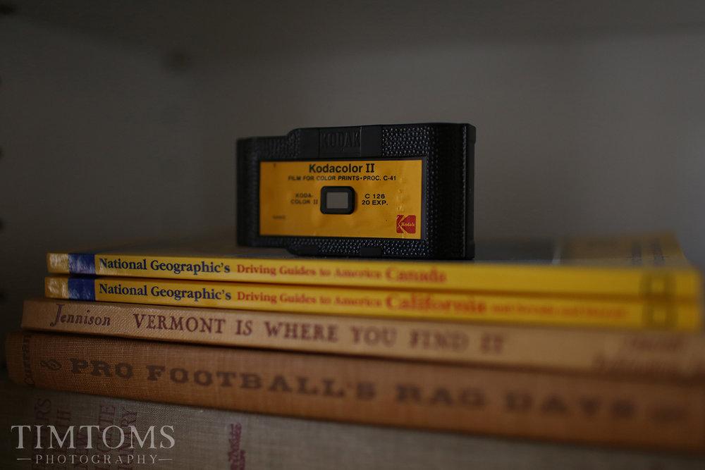 Kodak Film Kodacolor Vintage Film