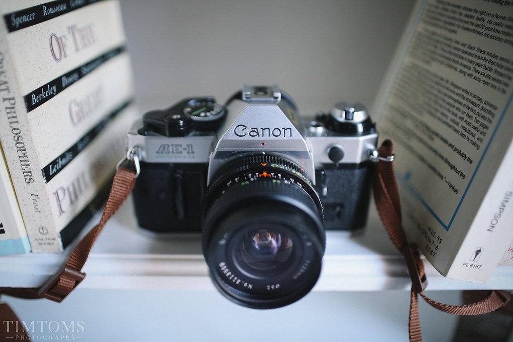 Canon AE-1 Vintage Camera