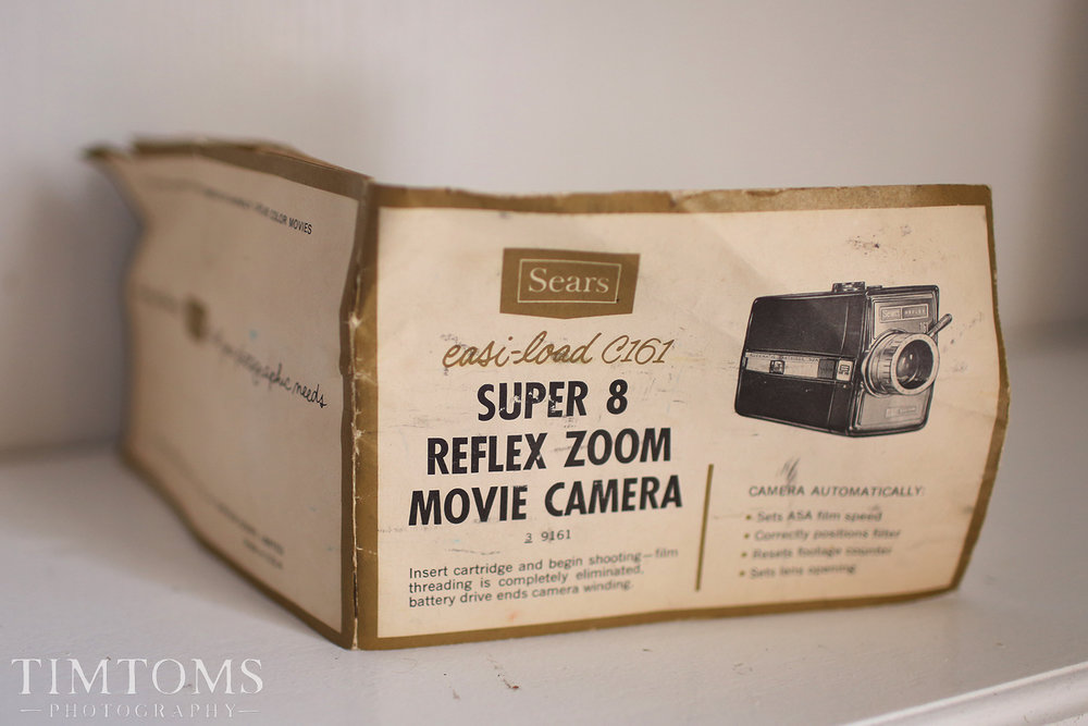 SUPER 8 CAMERA INSTRUCTION MANUAL