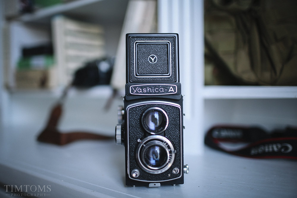 Yashica A Medium Format Camera