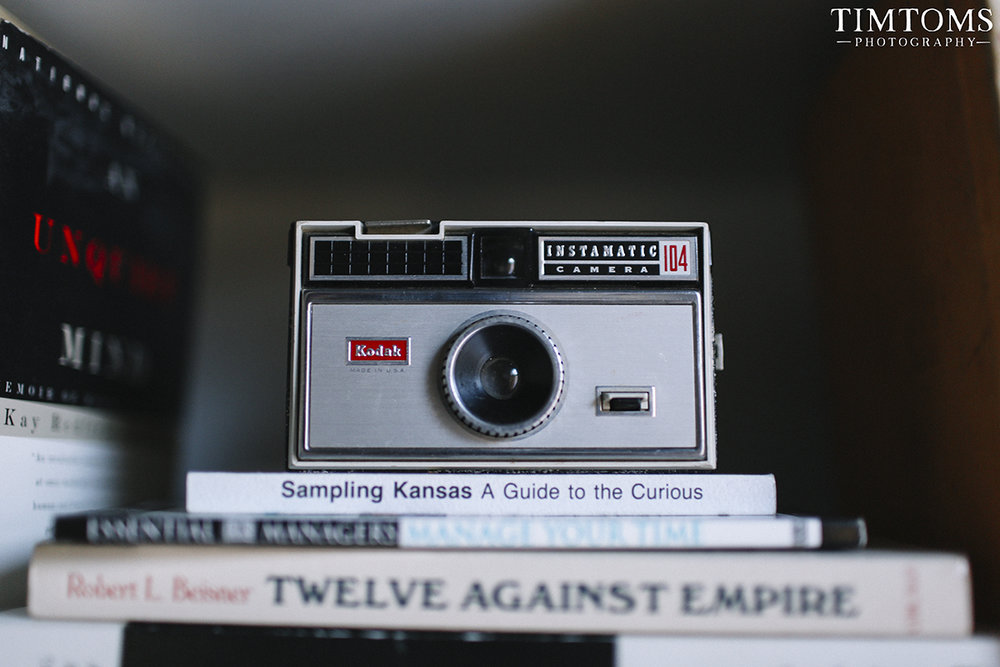 Kodak Instamatic 104 Camera