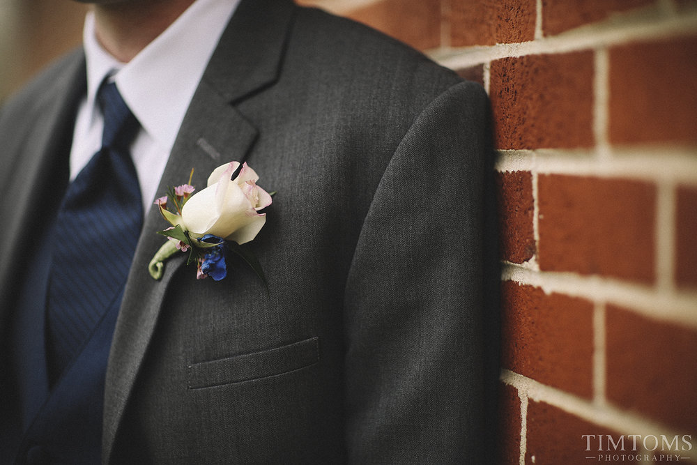 Boutonnière Groom Wedding Suit Tie
