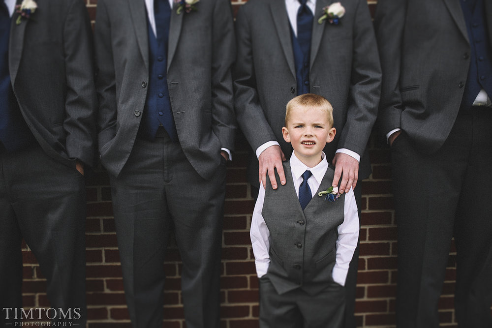 Groom & Groomsmen Ring Bearer