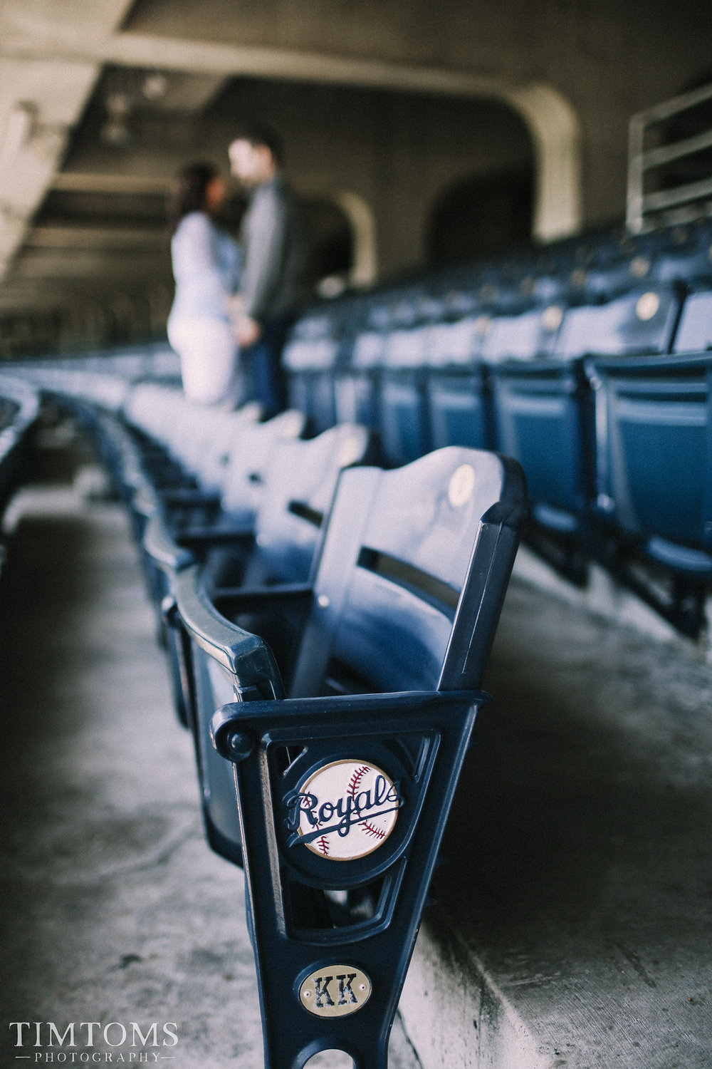 MLB Stadium Engagement Photo shoot Photography