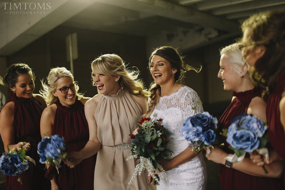 Bridesmaids Joplin Missouri Wedding Photography
