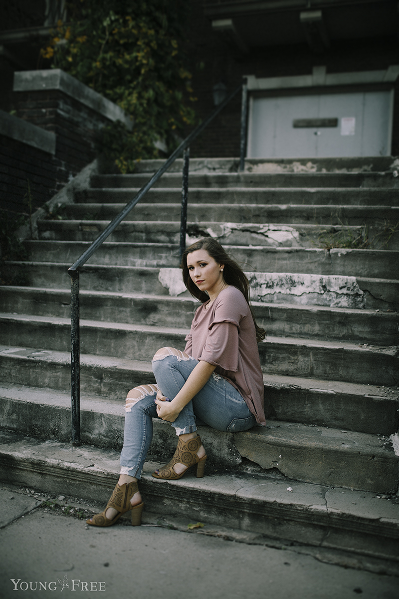 northwest arkansas senior portrait photography