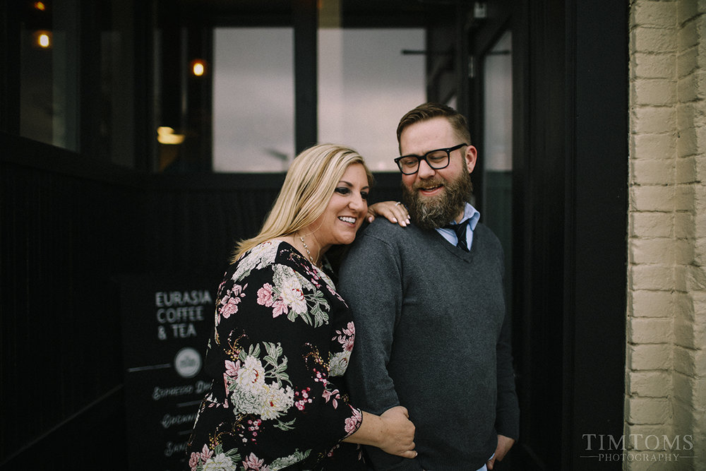 downtown springfield missouri engagement