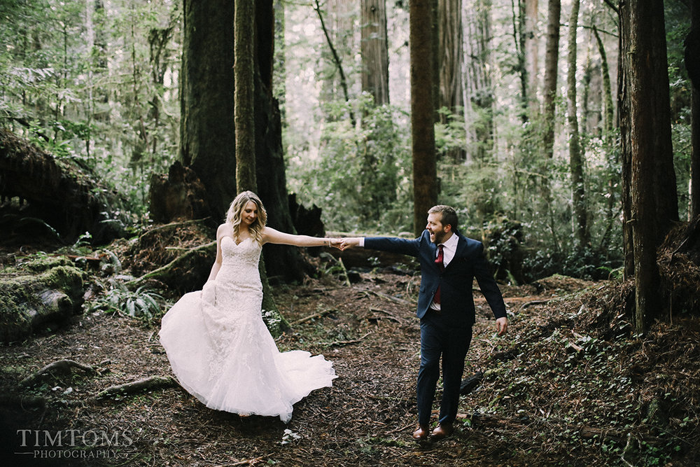 pacific northwest coast wedding photographer oregon california